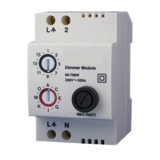 LD11 X10 DIN rail lamp dimmer module on/off/dim