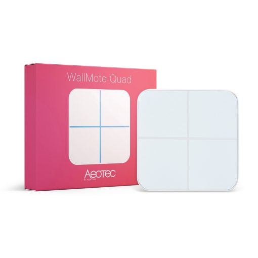 Aeon Labs WallMote 4 knops remote by Aeotec