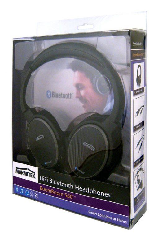 MARMITEK BoomBoom 560 – Draadloos genieten van muziek van je smartphone of tablet-pc.