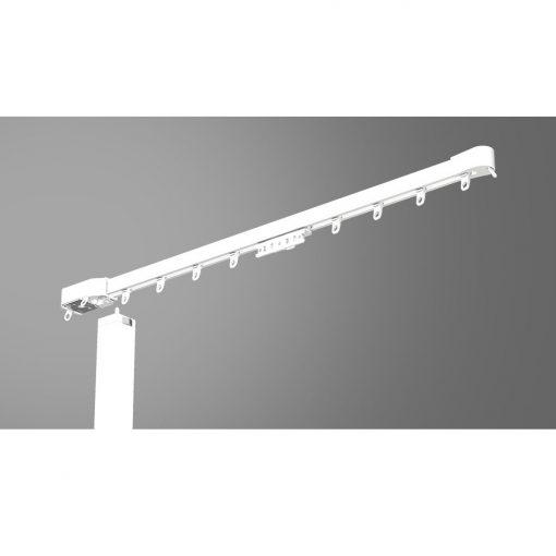 BREL Slim rail ACCU maatwerk elektrische gordijnrails