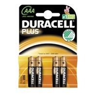 Duracell Alkaline AAA 1,5V batterij (4st.)
