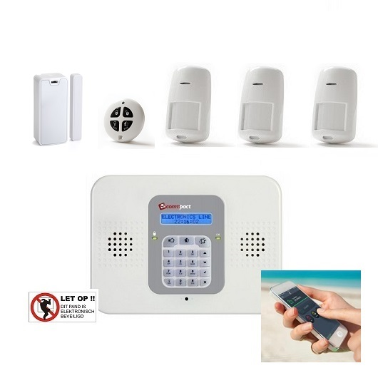 - Electronics Line® SecuPlace alarmsysteem (RISCO)