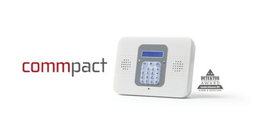 EL-CommPact professioneel draadloos alarmsysteem set