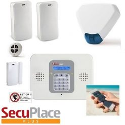 SecuPlace PLUS Set met draadloze sirene