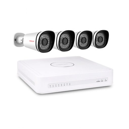 Foscam FN3108XE-B4-1T 720P NVR Security System kit