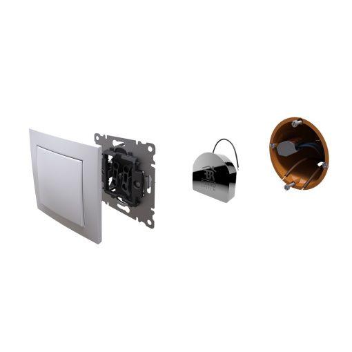 Fibaro Schakelaar micro module enkel 1 x 2.5 KW met stroommeting Z-wave+