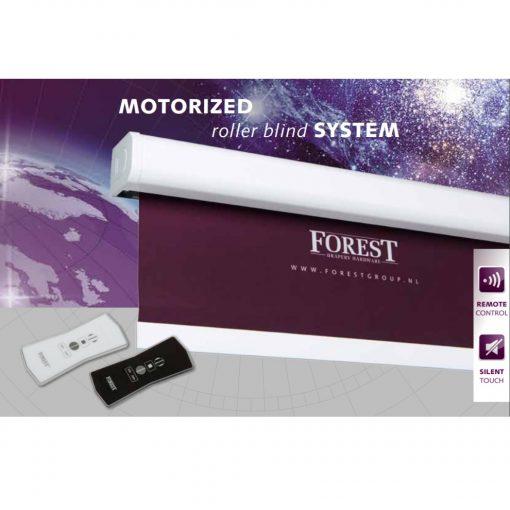 De nieuwe Forest Atlantis® elektrisch rolgordijn