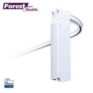 Forest Shuttle® L gordijnrails geruisloos en soepel
