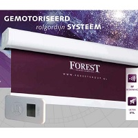 - Forest Atlantis® elektrisch rolgordijn