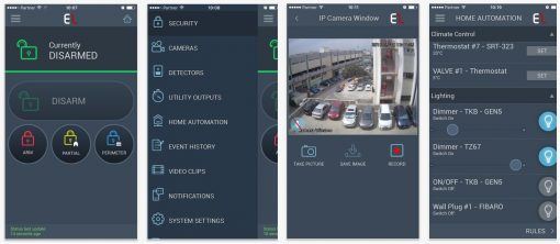 iConnect 2-Weg SET met IP/GPRS/GSM communicatie en 3x fotocamera (MotionCAM) DEMO