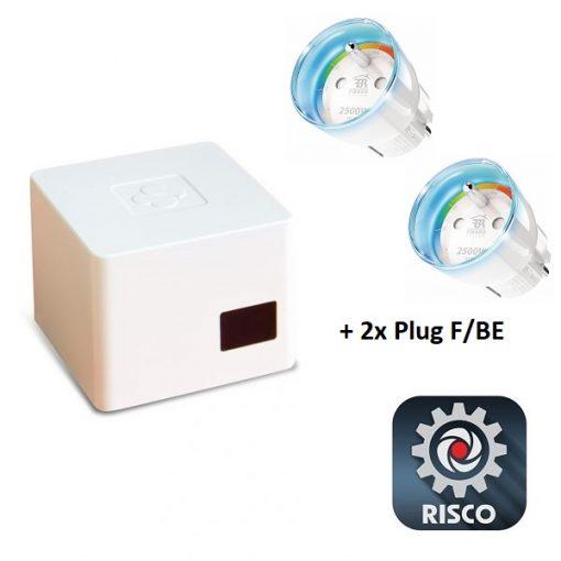RISCO Smart Home Gateway KIT (Incl. 2 plugs) F/BE model