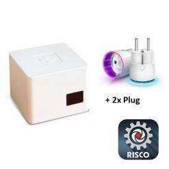 RISCO Smart Home Gateway KIT (Incl. 2 plugs) NL model