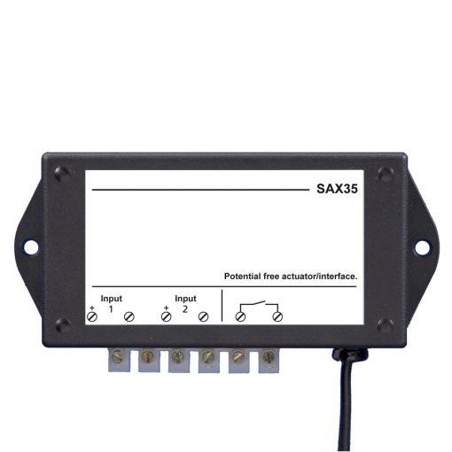 SAX35 Potentiaalvrije actor / Interface opbouw module