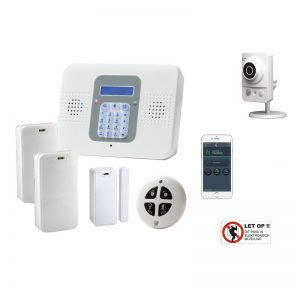 Electronics-Line SecuPlace WiFi DHZ alarmsysteem – met VUpoint HD cube camera