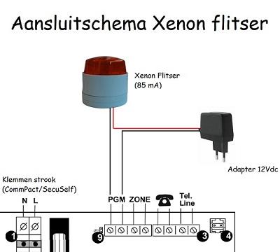 aansluitschema_xenon_flitser
