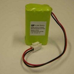 Accu t.b.v. Electronics-Line EL2626AC / OS826 Sirene