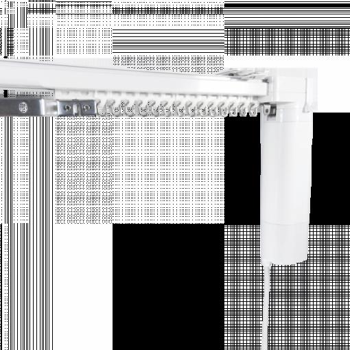 BREL maatwerk elektrische gordijnrails