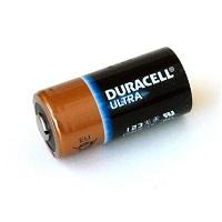 Duracell Lithium CR123A 3V batterij