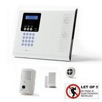 - Electronics Line® iConnect - SecuSafe 2-weg professioneel draadloos alarmsysteem