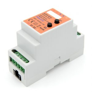 euFIX S212 DIN-rail behuizing voor Fibaro FIB-FGS-212 Schakelaar micro module enkel
