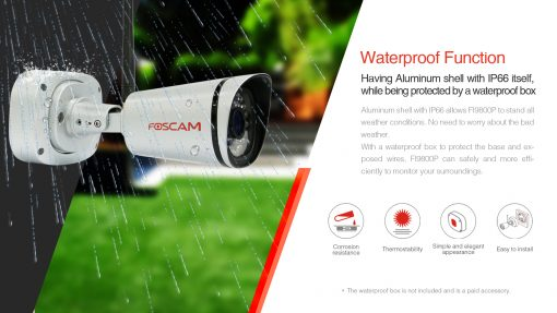 FI9800P Outdoor HD 1MP IP Camera