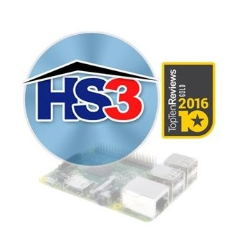 HomeSeer HS3-Pi-3 Home Automation Software voor de Raspberry Pi 3