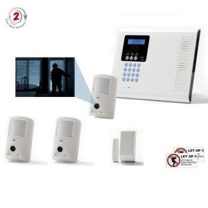 iConnect 2-Weg SET met IP/GPRS/GSM communicatie en 3x fotocamera (MotionCAM)