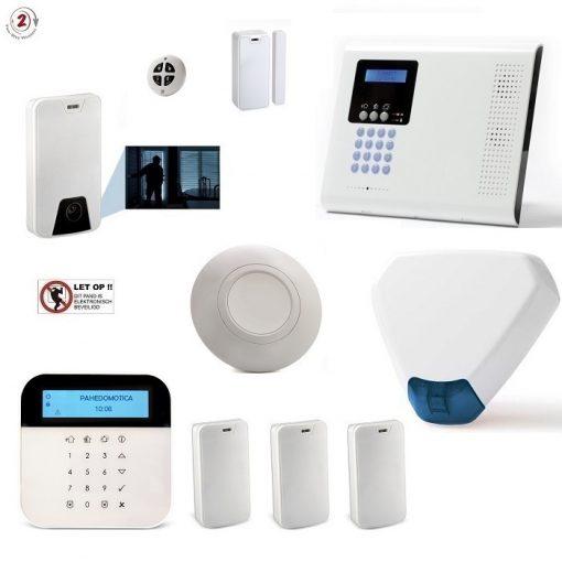 iConnect 2-Weg super voordeelset met IP/GPRS/GSM communicatie en sirene