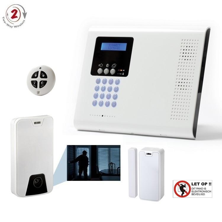 - Electronics Line® iConnect 2-weg professioneel draadloos alarmsysteem (RISCO)