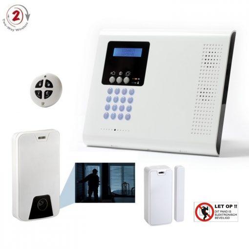iConnect 2-Weg basis SET met IP/GPRS/GSM communicatie en fotocamera