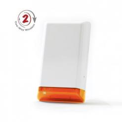EL4726 Amber 2-weg draadloze buitensirene met flitslicht