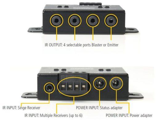 Marmitek IR Control 11 XTRA aanbieding – Invisible High-end Blaster Infrared Extender met inbouwontvanger