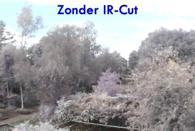 Zonder IR-Cut